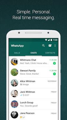 WhatsApp Messenger App  AndroiD Os Screenshot