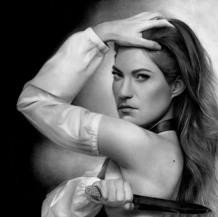 Портреты гламурных и опасных женщин. Stan Bossard