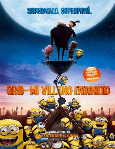 Ver Gru, mi villano favorito (Despicable Me) (2010) Online