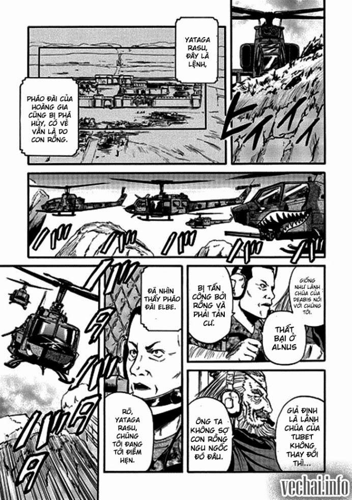 Gate – Jietai Kare no Chi nite, Kaku Tatakeri chap 43 Trang 25 - Mangak.info