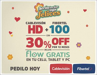 ESPACIO PUBLICITARIO: CABLEVISION + FIBERTEL