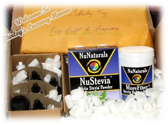 nunaturals stevia sweeteners