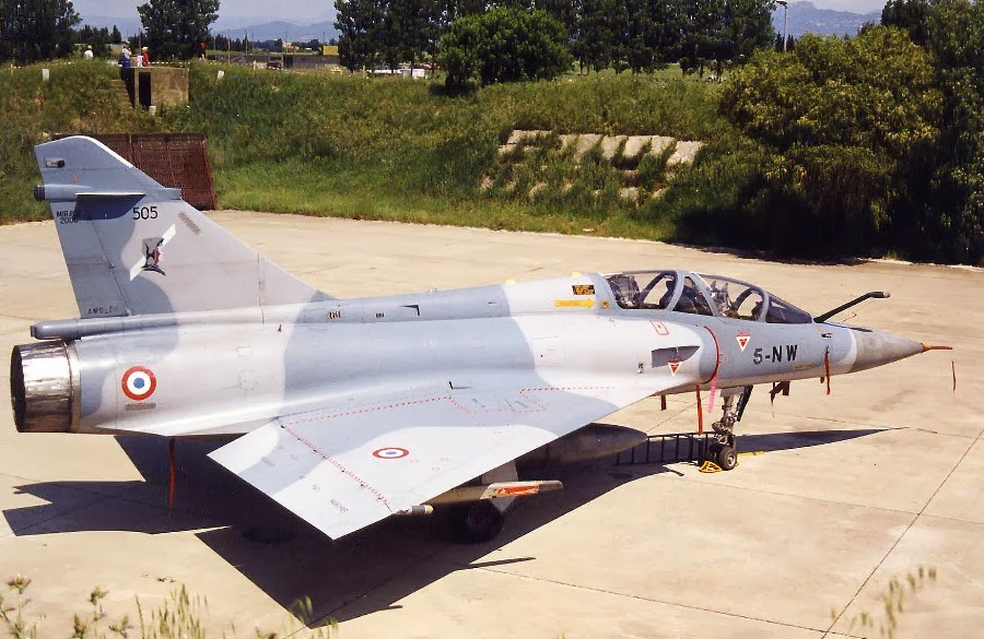 Dasault mirage 2000 B N°505 5-NW