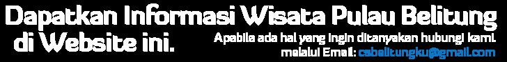 Info Tour Travel Wisata Murah hemat Pulau Belitung
