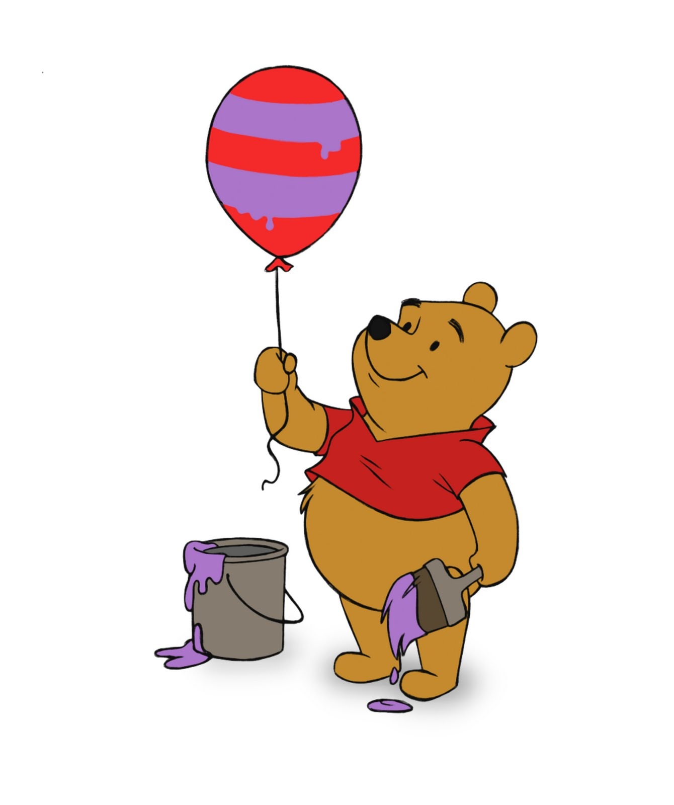 Old fashioned winnie the pooh baby shower 70