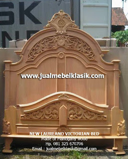 Supplier Classic Indonesia Furniture supplier wooden classic bed supplier unfinished mahogany bed