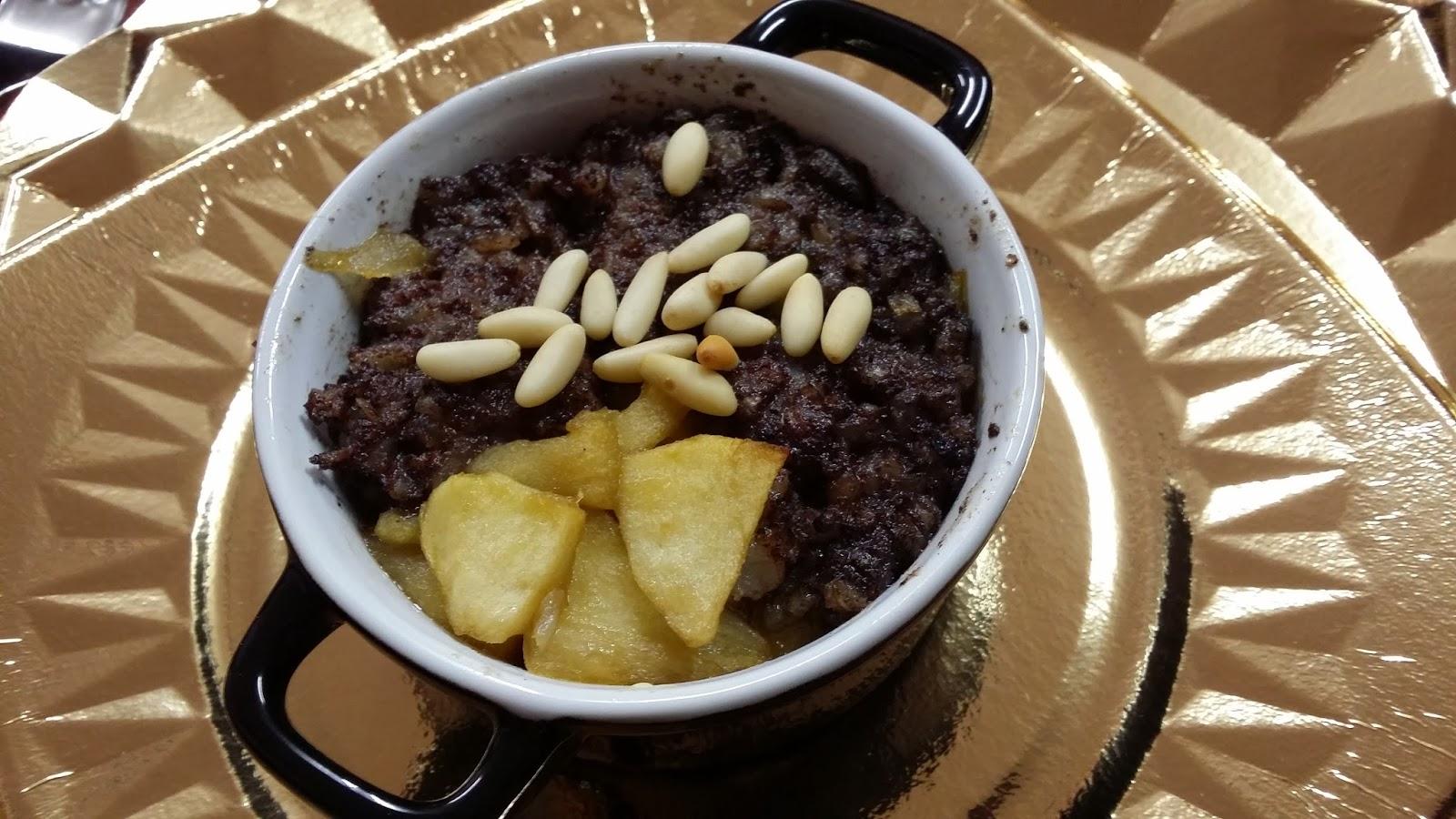 Cocotte de morcilla con manzana al pedro xim nez buena mesa buen vino y buenos amigos - Vino de pedro ximenez para cocinar ...