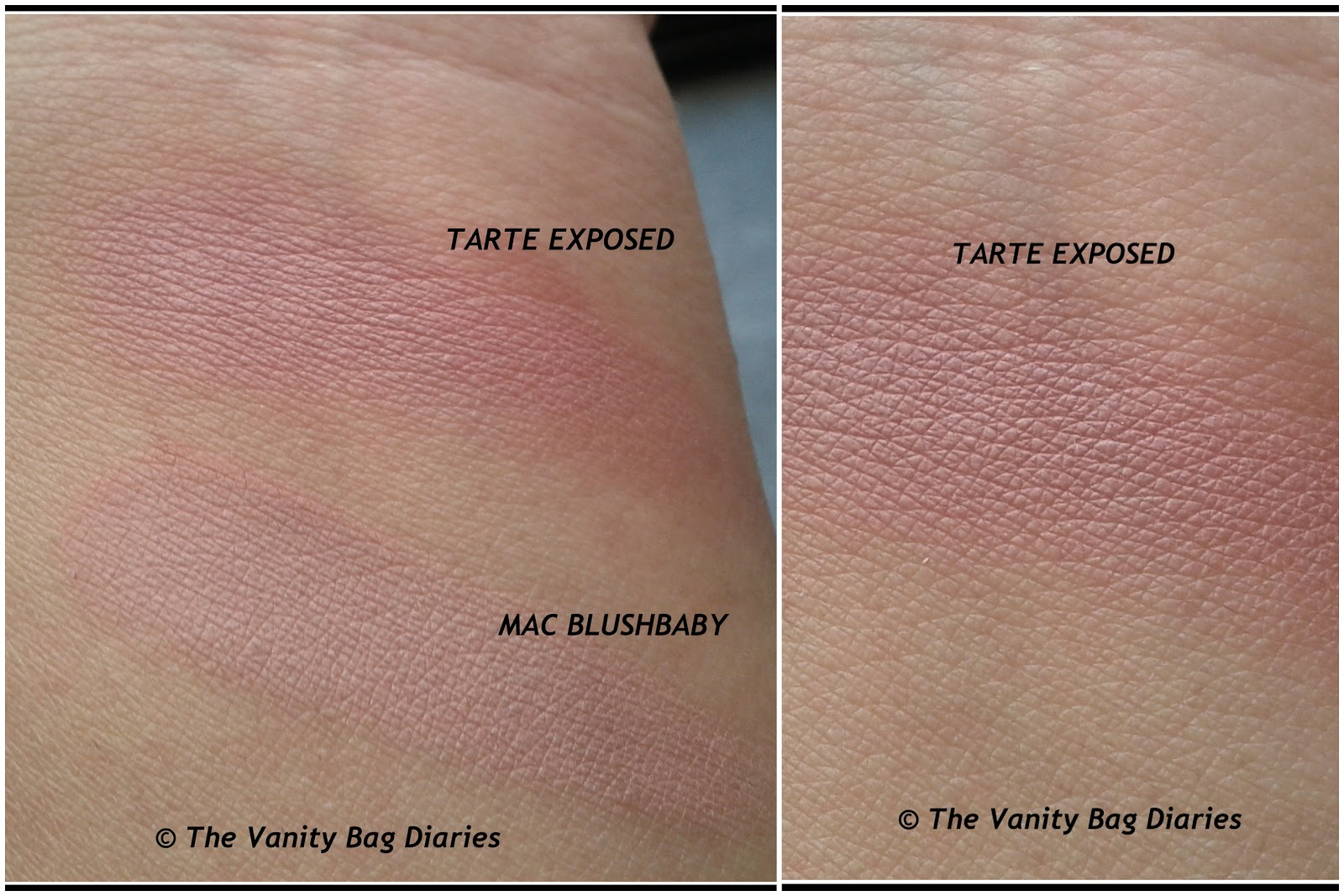 The Vanity Bag Diaries ...: Review - Tarte Amazonian Clay Blush in ...