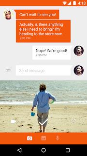 Google Messenger Lolipop 3