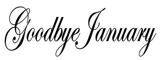 Goodbye January '13