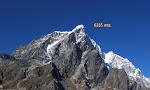 Algunos de los picos del trekking