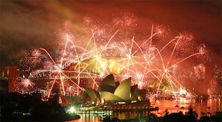 Gambar Kembang Api Tahun Baru 2016 Sydney Australia Fireworks Happy New Year