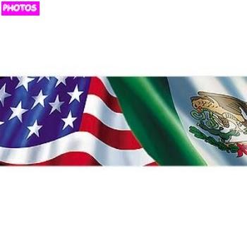 mexican american flag | mexican flag