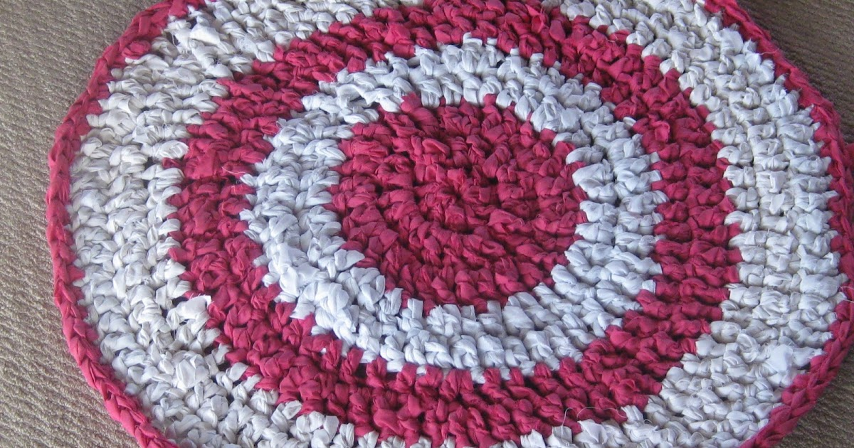 Knot Your Nana's Crochet: Rag Rug