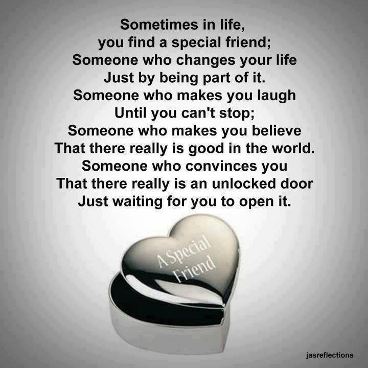 Positive Thinkers.: Sometimes In Life, You Find A Special