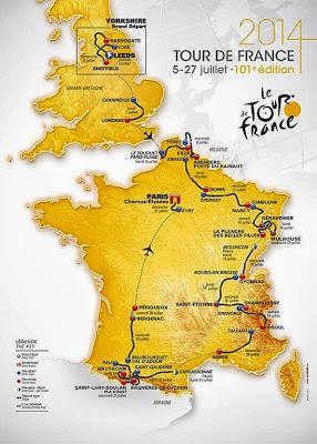 parcours du Tour de France 2014 pyrénées