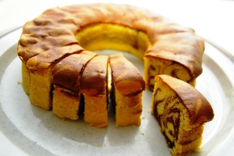 Resep Marble Cake Panggang