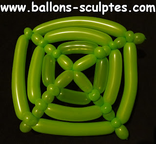 centre de table en ballons