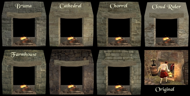 The Medieval Smithy SIMS 2: Tavern Fireplace Recolours
