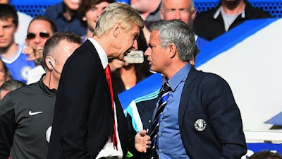 Wenger wallpapers Mourinho fight