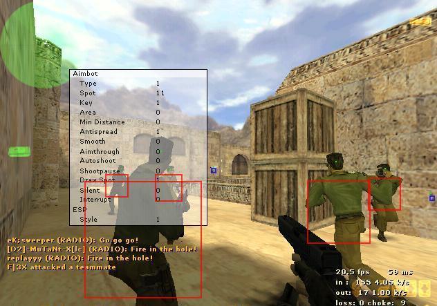 cs 1.6 aimbot undetected
