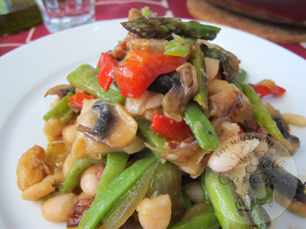 verduras salteadas cocinar en casa es