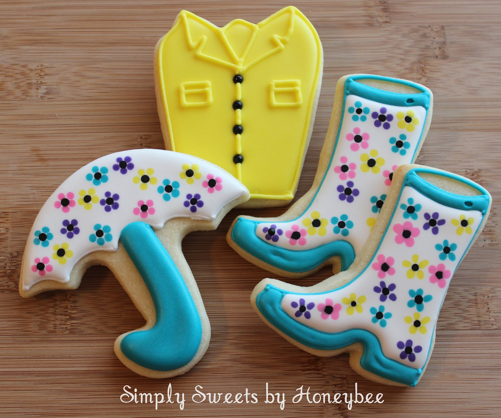 April Showers Cookies