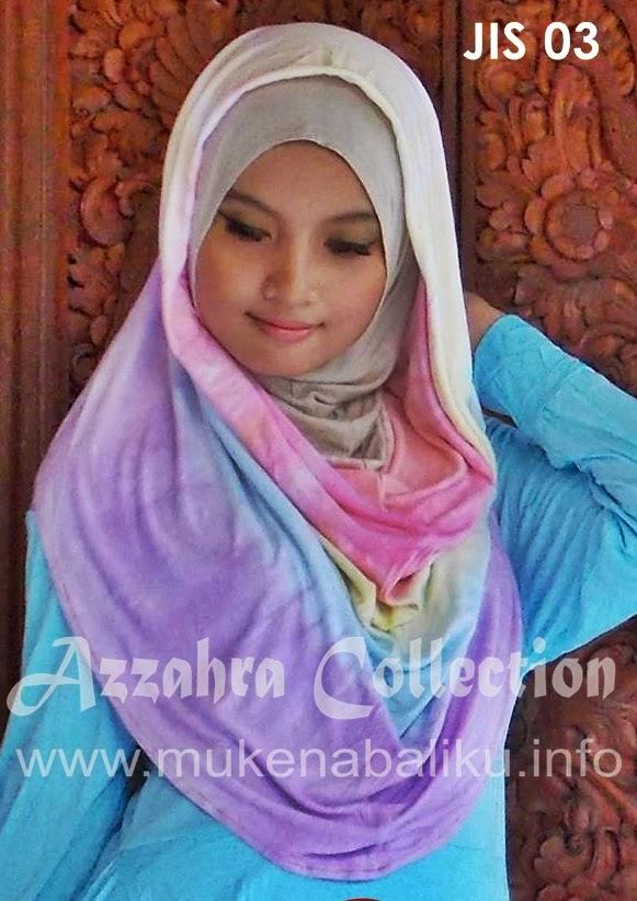 Hijab Instan pelangi