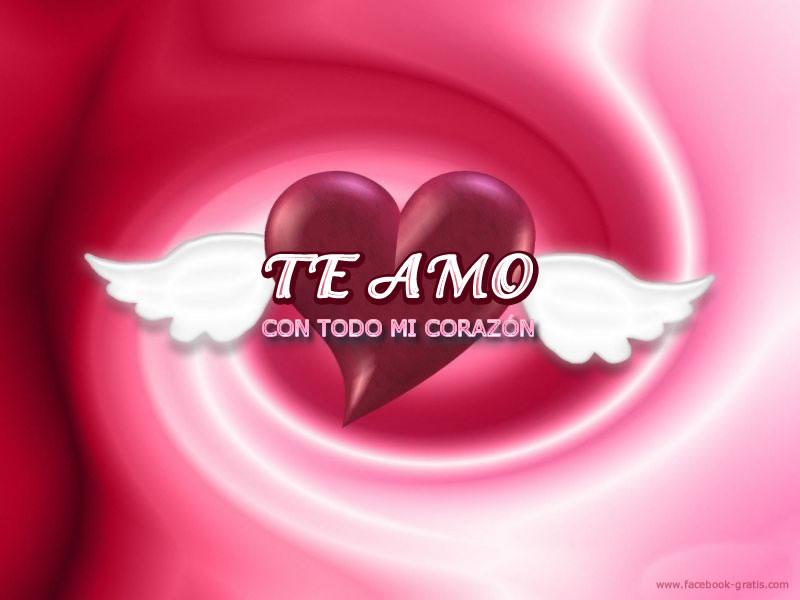 Te amo corazón