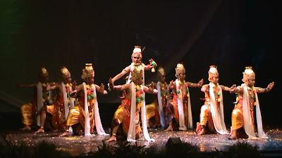 Tari Bedhaya Yogyakarta Tari Bedhaya Budaya Indonesia