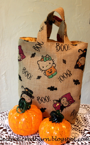 Top stitched tote