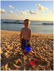 Harry in Mauritius