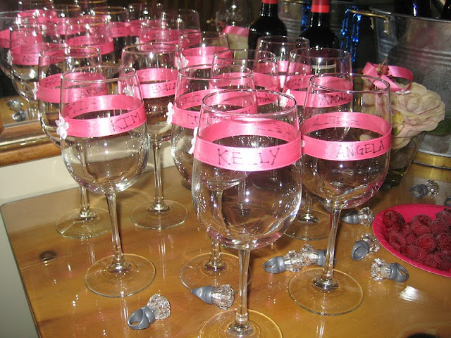 A Little About A LOT Wine Glasses For The Girls