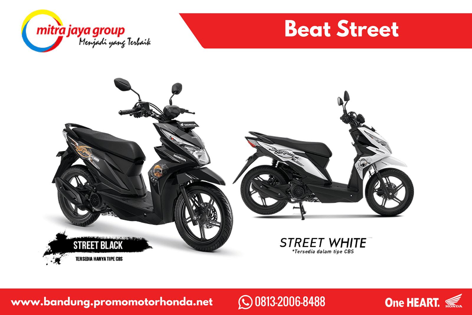 Kredit Motor Beat 2018 New Street Esp Black Cilacap Harga Honda Terbaru Wilayah Bandung