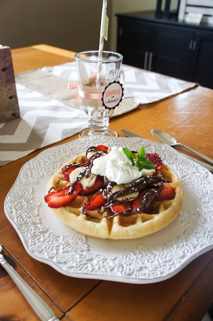 Nutella - Have you ever had Nutella on a waffle? If not, you have been ...