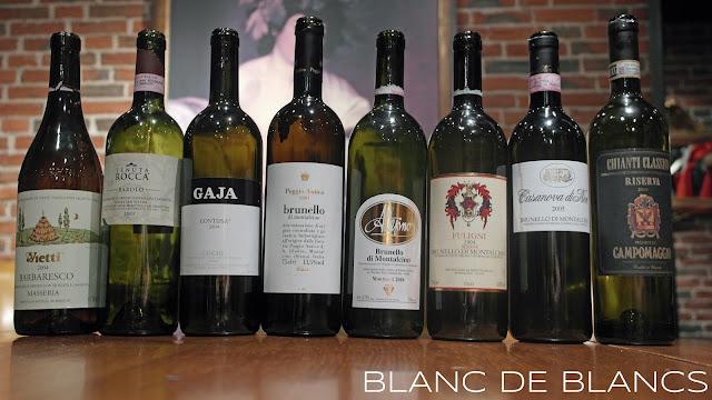 Punaviinit rivissä - www.blancdeblancs.fi
