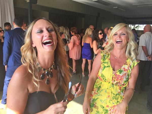 Cara and Lindsay