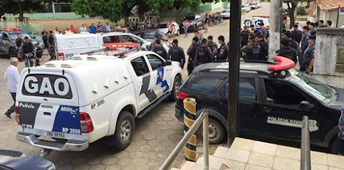 Suspeitos de cometerem roubos são presos por policiais civis em Ecoporanga