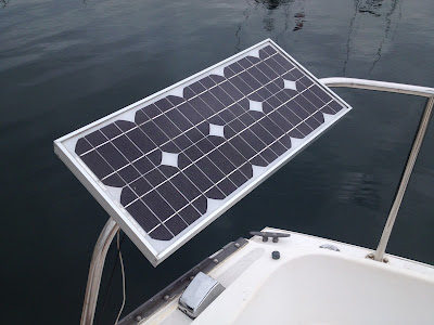 how much solar do i need on my boat