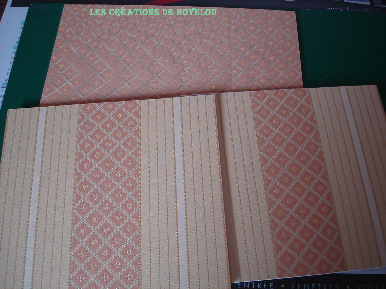 Cherche échantillon papier peint Bar - Catalogue Echantillon Papier Peint