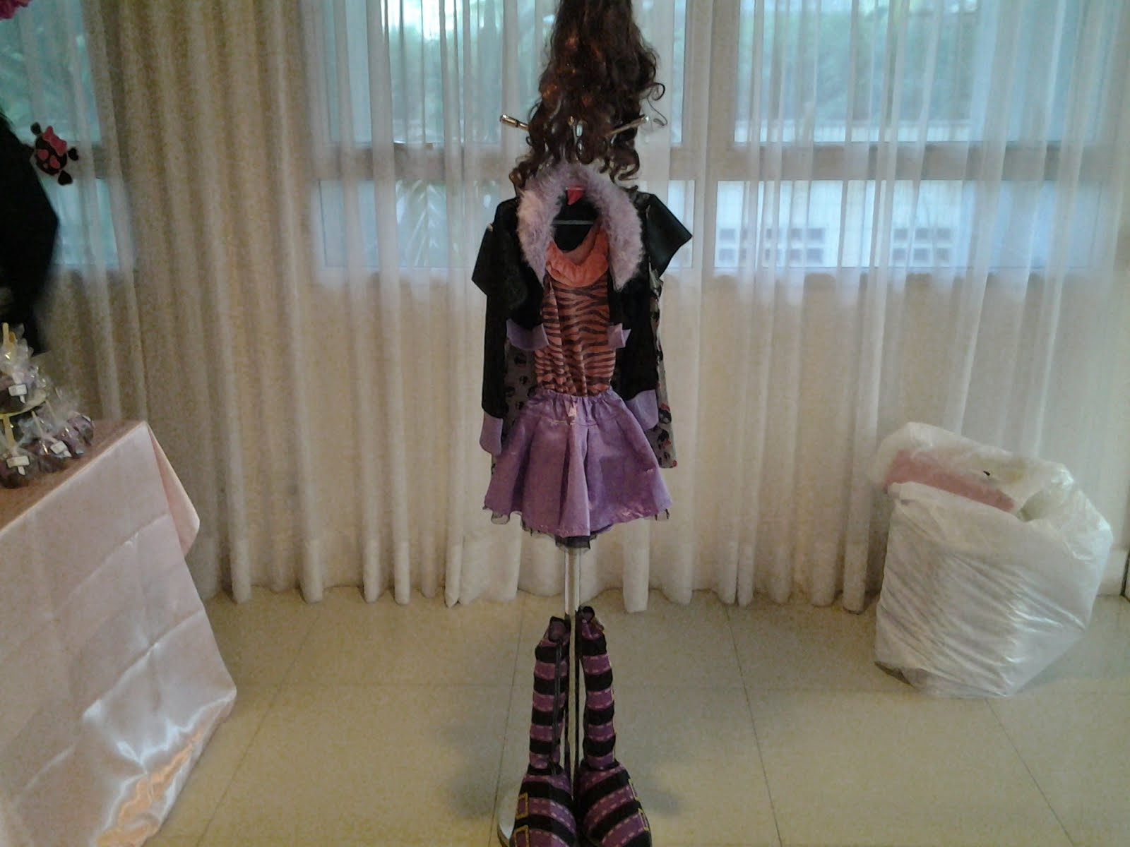 Roupa da Monster High