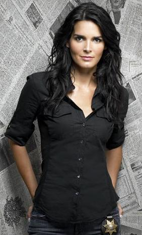 who is angie harmon married to. There#39;s an Angie Harmon clone