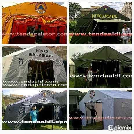 Tenda Bantuan, Bencana, Posko ,Pleton ,Pengungsi 2