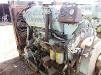 275 KVA generator, Yanmar, used marine diesel generators for sale, 60 Hz