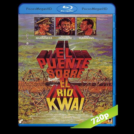 El puente sobre el río Kwai (1957) BrRip 720p Inglés AC3+subs
