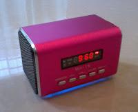 Mini caixa de som entrada para micro SD