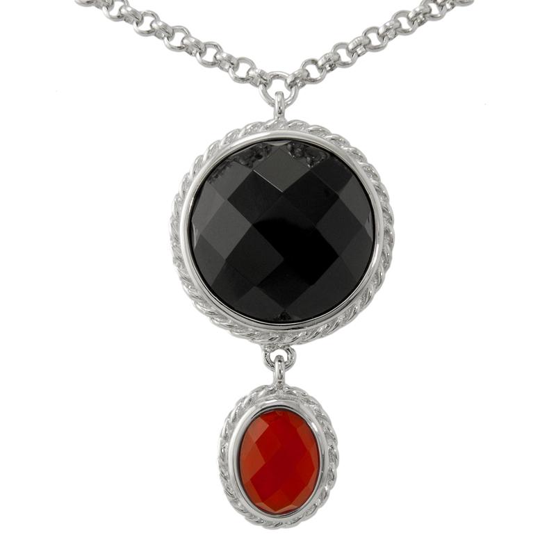 Elle Jewelry Agate Pendant