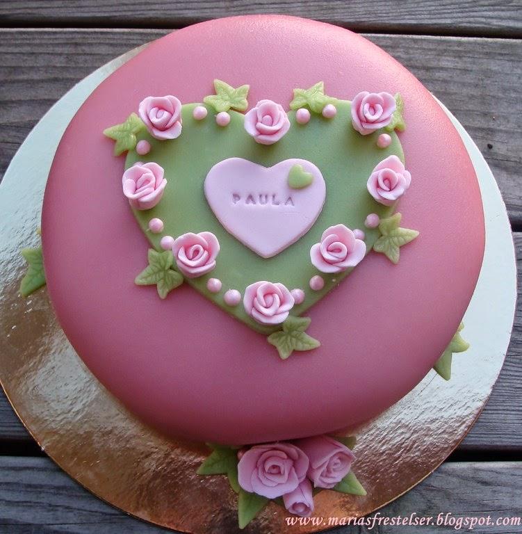 Romantisk tårta