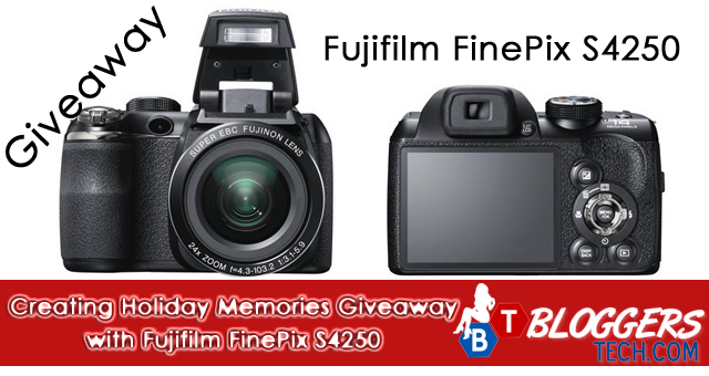 Creating Holiday Memories Giveaway with Fujifilm FinePix S4250