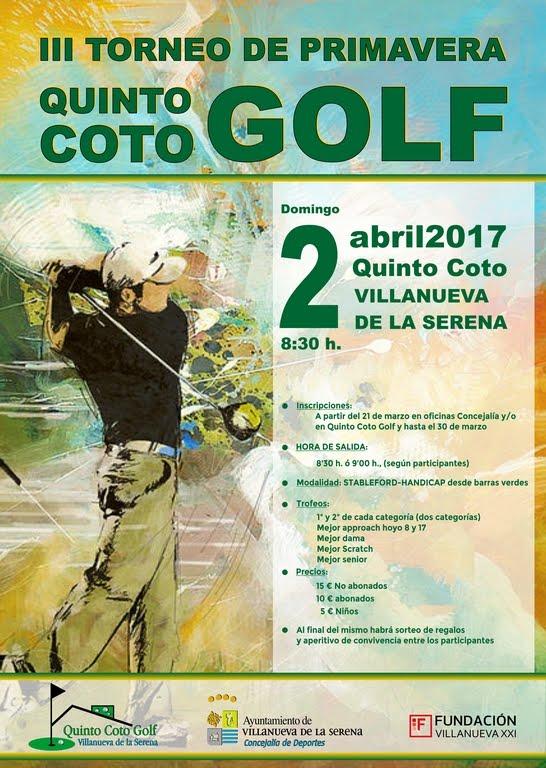 III Torneo de Primavera Golf